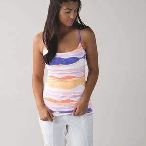 Lululemon | Dancing Warrior Tank Multicolored